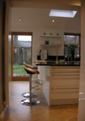 New kitchen/dining room on a house in Baildon