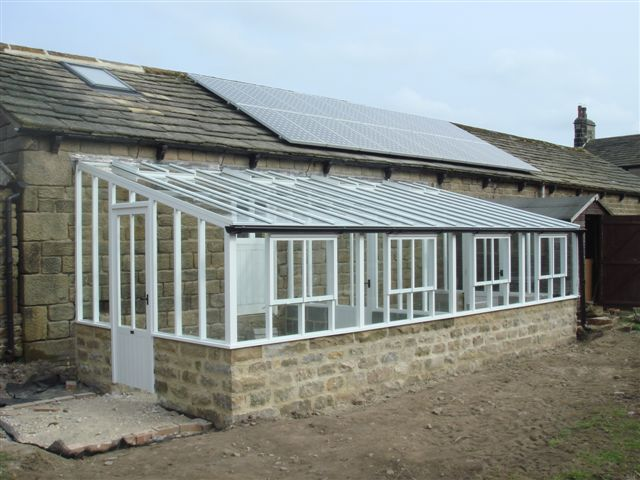 New horticultural greenhouse