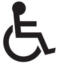 Design for disability logo