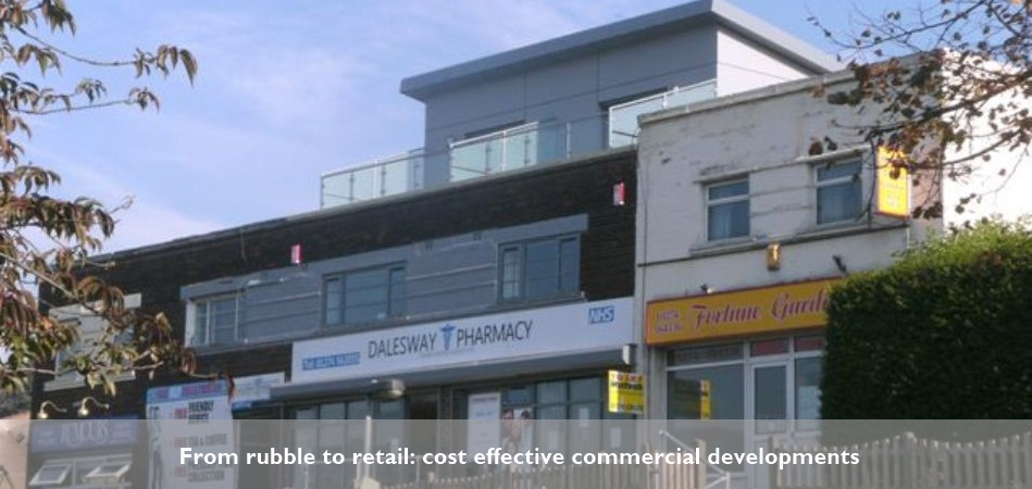 A commercial development in Bingley by RDawson Architect